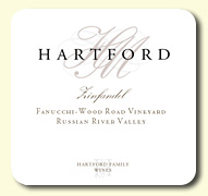 2014 Hartford Family Wines Zinfandel Fanucchi-Wood Road Vineyard Old Vine Russian River Valley
