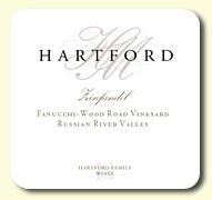 2014 Hartford Family Wines Zinfandel Fanucchi-Wood Road Vineyard Old Vine Russian River Valley