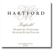 2010 Hartford Family Wines Zinfandel Highwire Vineyard Old Vine Russian River Valley