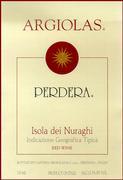 2013 Argiolas Perdera Monica di Sardegna