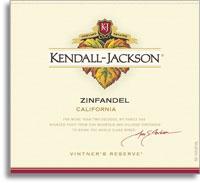 2011 Kendall-Jackson Zinfandel Vintner's Reserve California