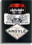 2010 Argyle Winery Pinot Noir Nuthouse Willamette Valley