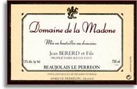 2013 Domaine De La Madone Beaujolais Nouveau