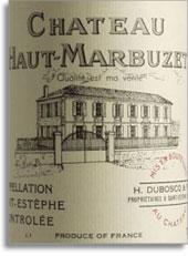 2005 Chateau Haut Marbuzet Saint-Estephe