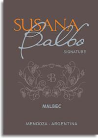 2009 Susana Balbo Malbec Signature Mendoza