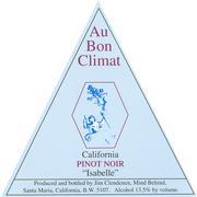 2012 Au Bon Climat Pinot Noir Isabelle California