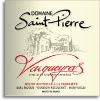 2006 Domaine St. Pierre Vacqueyras