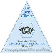 2012 Au Bon Climat Hildegard White Table Wine Santa Maria Valley