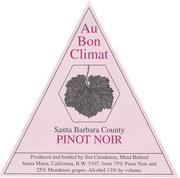 2012 Au Bon Climat Pinot Noir Santa Barbara County