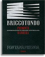 2012 Fontanafredda Barbera Briccotondo