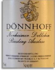 2001 Donnhoff Norheimer Dellchen Riesling Auslese