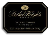 2011 Bethel Heights Vineyard Pinot Noir Estate Grown Willamette Valley
