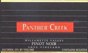 2010 Panther Creek Cellars Pinot Noir Shea Vineyard Yamhill-Carlton District