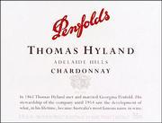 2012 Penfolds Wines Chardonnay Thomas Hyland Adelaide