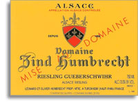 2010 Domaine Zind Humbrecht Riesling Gueberschwihr