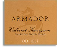 2011 Odfjell Vineyards Cabernet Sauvignon Armador Maipo Valley