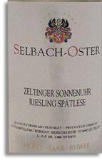 2010 Selbach Oster Zeltinger Sonnenuhr Riesling Spatlese
