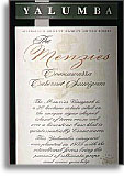 2010 Yalumba Cabernet Sauvignon The Menzies Coonawarra