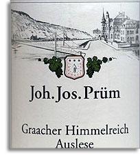 2010 Joh. Jos. Prum Graacher Himmelreich Riesling Auslese