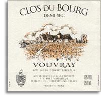 2011 Domaine Huet Vouvray Clos du Bourg Demi-Sec