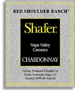 2002 Shafer Vineyards Chardonnay Red Shoulder Ranch Carneros Napa Valley
