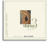 2010 Three Wine Company Mataro Spinelli Vineyard