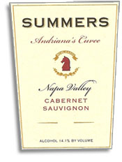 2008 Summers Cabernet Sauvignon Andriana's Cuvee Napa Valley