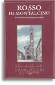 2013 Canalicchio di Sopra Rosso di Montalcino