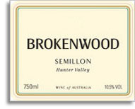 2011 Brokenwood Wines Semillon Hunter Valley