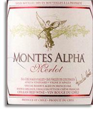 2008 Montes Merlot Alpha Colchagua Valley