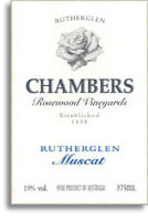 NV Chambers Rosewood Winery Rutherglen Special Muscat North East Victoria