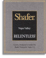 2002 Shafer Vineyards Relentless Napa Valley