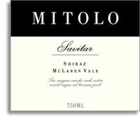 2010 Mitolo Shiraz Savitar Mclaren Vale