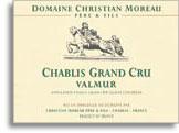 2012 Domaine Christian Moreau Pere Et Fils Chablis Valmur
