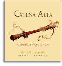 2011 Bodega Catena Zapata Cabernet Sauvignon Alta Mendoza