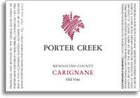 2010 Porter Creek Vineyards Carignane Old Vine Mendocino County