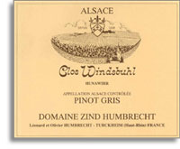 1997 Domaine Zind Humbrecht Tokay-Pinot Gris Clos Windsbuhl