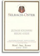 2012 Selbach Oster Zeltinger Schlossberg Riesling Kabinett