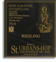 2012 St. Urbans-Hof Piesporter Goldtropfchen Riesling Spatlese