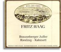 2009 Fritz Haag Brauneberger Juffer Riesling Kabinett