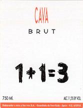 NV U Mes U Fan Tres 113 Brut Cava