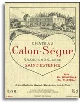 2011 Chateau Calon Segur Saint-Estephe