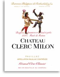 2011 Chateau Clerc Milon Pauillac