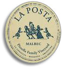 2006 La Posta Malbec Pizzella Family Vineyard Mendoza