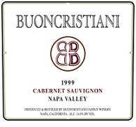 2006 Buoncristiani Cabernet Sauvignon Napa Valley
