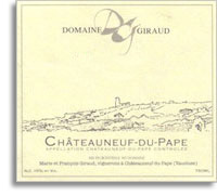 2007 Domaine Giraud Chateauneuf-du-Pape