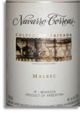2009 Navarro Correas Malbec Coleccion Privada Mendoza