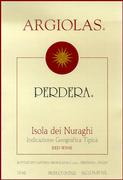 2009 Argiolas Perdera