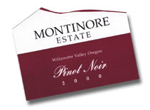 Vv Montinore Estate Pinot Noir Estate Willamette Valley