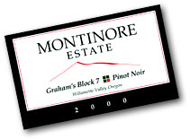 2010 Montinore Estate Pinot Noir Graham Block 7 Willamette Valley